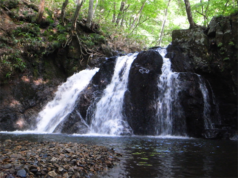 御堂新田の滝2